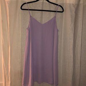Lavender Topshop mini dress